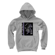Anze Kopitar Liquefy K Los Angeles Officially Licensed NHLPA Youth Hoodie S-XL