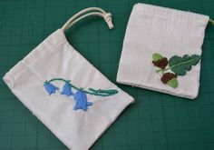 Ginx Craft: How to Sew a Small Drawstring Bag
