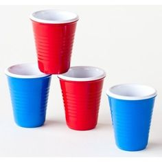 Melamine Solo Shot Glasses