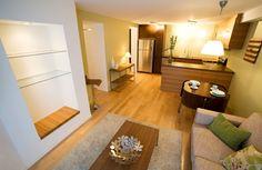 small basement apartment ideas interior of modern apartment with furniture - Basement Apartment Design