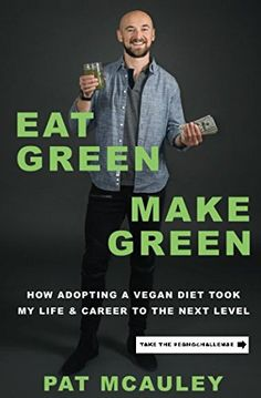Eat Green Make Green is a must read for anyone looking to change their life for the better.  The author provides personal stories and anecdotes detailing what motivated him adopt a vegan diet and the extraordinary results he achieved.  The book is easy and fun to read and most importantly, provides a road map for all who want to be healthier and be more successful both personally and professionally.