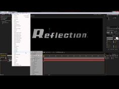 Creating Reflections in After Effects WITHOUT Plug-ins!