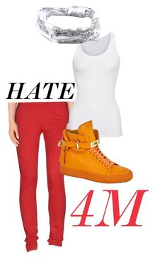 """""""4Minute HATE Inspired Outfit"""" by deer-in-the-prisms ❤ liked on Polyvore featuring Alviero Martini 1° Classe, American Vintage, BUSCEMI, Full Tilt, women's clothing, women, female, woman, misses and juniors"""
