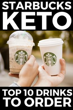 You will love these Keto Starbucks ideas for your Ketogenic Diet. These are the top 10 Starbucks Drinks you can get on your Ketogenic Diet that will help you stay in ketosis and lose fat fast. hese healthy, gluten free, and easy low carb Keto Starbucks orders that include Keto Pink Drink, Keto Passion Tango Iced Tea, Keto Chai Tea Latte, build your own and lots of other fun ideas. #keto #lowcarb #lchf #highfat #ketostarbucks Iced Chai Tea Latte, Iced Tea, Keto Fast Food, Keto Snacks, Healthy Food, Starbucks Drinks, Starbucks Coffee, Coffee Drinks, How To Order Starbucks