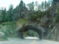 Tunnel to Keystone, South Dakota