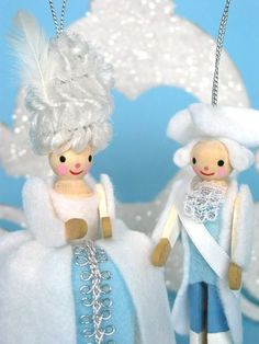 Cinderella Clothes Pin People Ornament Kit sold by Fantastic Toys @ Etsy. I really would like to make these clothes pin dolls where can i get just the clothes pins?