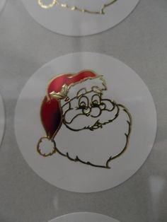 Ho Ho Ho! Adorable Santa Claus labels, perfect to add the finishing touches to any Christmas card or gift!!
