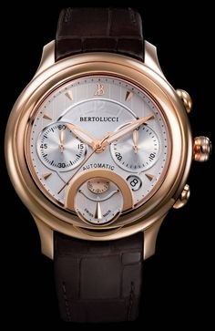 Bertolucci Giro Chronograph Watches Have A Freaky Face Watch Releases