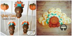 Learn how to make these fun Turkey Cake Pops for your Thanksgiving table. Your guests will be impressed!