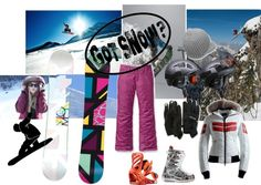 """SnOW BoaRD!!!"" by galax on Polyvore"