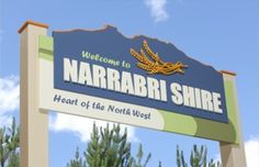 Narrabri Entry Sign | Danthonia Designs