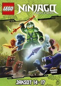 Lego Ninjago DVD - Jaksot 14-17. (Kaksi DVD:tä löytyy jo: jaksot 1-4 ja 9-13).