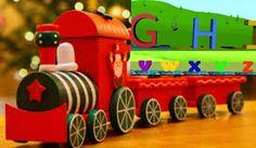 Alphabet Train Learn Alphabets Educational Play * Children Video