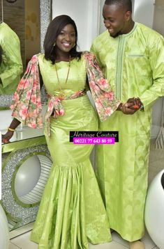 Couples African Outfits, Turban Hijab, African Fashion Ankara, African Traditional Dresses, African Design, Beautiful Couple, Classy Dress, Cute Couples, Couture