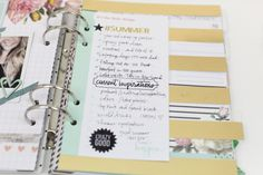 5 ways to add journaling in your planner Heidi Swapp, Ask For Help, Hello Everyone, Scrapbook Cards, 5 Ways, Planners, Free Printables, Journaling, How To Plan