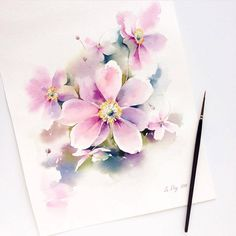 Watercolorist: @le_deg #waterblog #акварель #aquarelle #painting #drawing #art…