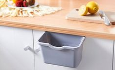 Cheap Storage Boxes & Bins, Buy Directly from China Suppliers:Kitchen Cabinet Do… - cheap kitchen cabinets Kitchen Waste, Smart Kitchen, Kitchen Hacks, Cheap Kitchen Cabinets, Kitchen Cabinet Doors, Diy Garland, Hanging Storage, Storage Boxes, Garbage Storage