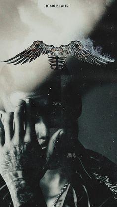 Zayn Malik Tumblr, Zayn Malik Lyrics, Zayn Mallik, Zayn Malik Wallpaper, Icarus Fell, Sea Wallpaper, Profile Pictures Instagram, Dark Paradise, Arabic Jokes