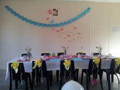 decoration de tables et chaises