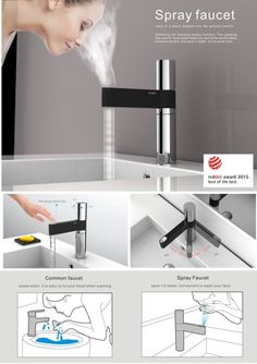 Smart Home Technology In Best Buy down Digital Gadgets Definition through Gadgets For Men's Birthday India Nachhaltiges Design, House Design, Shower Faucet, Sink Faucets, Basins, Modern Bathroom Faucets, Modern Sink, Smart Home Technology, Home Gadgets