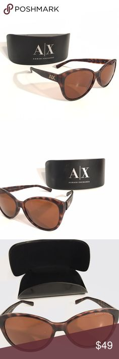 Armani Exchange Cat Sunglasses Used this a couple times and sat in my car. In mint condition. Paid full price at the time. A/X Armani Exchange Accessories Sunglasses