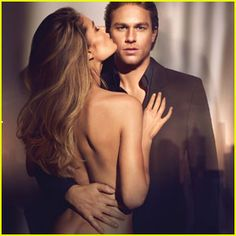 Charlie Hunnam, Doutzen Kroes Go Topless in New Calvin Klein Reveal Ad - Us Weekly