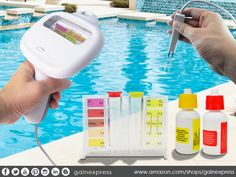 #Test water #quick and #easy with this all in one test kit #Hydro tools , together with this Chlorine Level Meter. Its displays testing result on both #PH and #Chlorine level, no chemical agent need.  See http://www.amazon.com/dp/B01B1BZEY8 now!
