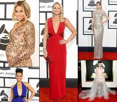Grammys 2014 Red Carpet Dresses Photos: What All the Stars Worezzz