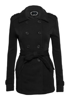 Women's Double Breasted Long Sleeve Peacoat Blazer with Pockets ** This is an Amazon Affiliate link. Want additional info? Click on the image.