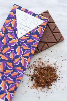 Compartes x Kelly Wearstler Gem CHAI TEA LATTE Chocolate - Chocolate Bar KW - Compartes Chocolatier Gourmet Chocolate - 1