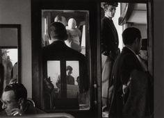 """Gianni Berengo Gardin """"On a vaporetto, Venice, 1960."""""""