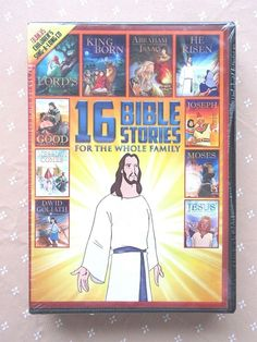 16 Bible Stories For The Whole Family 2 DVD + Bonus Childrens Sing A Long CD NEW #EchoBridgeHomeEntertainment
