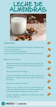 ¿Cómo hacer leche de almendras?