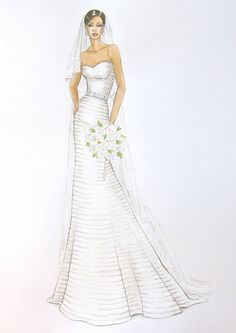 Custom Bridal Gown/ Wedding Dress Fashion by ForeverYourDress