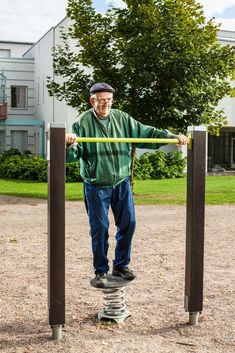Good Samaritan Society, Backyard Gym, Park Equipment, Outdoor Gym, Old Ones, Playground, Therapy, Exercise, Sports