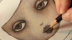 Mixed Media Girls with Suzi Blu. Learn how to create beautiful girls in a mixed media colored pencil painting.  For beginners!  Learn more h...