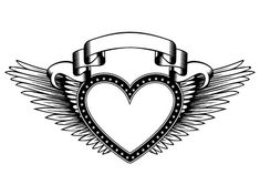 Abstract Vector Illustration Black And White Wings And Inscription Angel In The Gothic Style. Design For Tattoo Or Print T-shirt . Royalty Free Cliparts, Vectors, And Stock Illustration. Image 82944645.