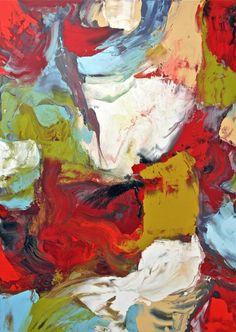 "Saatchi Art Artist Johann Nußbächer; Painting, ""Working in varnish 89"" #art"