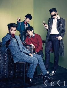 Block B - Ceci Magazine December Issue '13