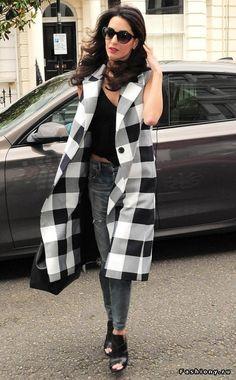Модные луки от Амаль Клуни