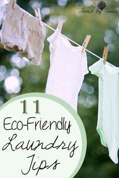11 Eco Friendly Laundry Tips- If you are trying to be more green at home, here are some great laundry tips that help you love mother earth.