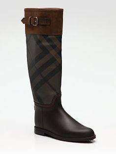 BURBERRY rain boots!!!!!