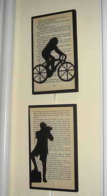 Silhouette Pictures - Great to Make for Each Child's/Adult Child's Interest / Hobby