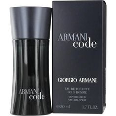 Armani Code By Giorgio Armani Edt Spray 1.7 Oz