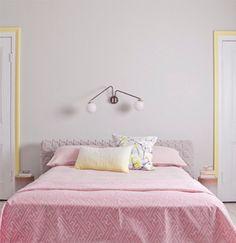 Pastel Power voor in de slaapkamer.