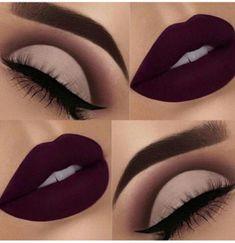 Eye work bomb and sexy lips #makeupideaslips
