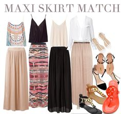 How to Rock some serious style with a Maxi Skirt || Long Island Fashion || #ReneesMattituck