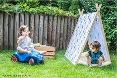 5-minute DIY Child's Tent