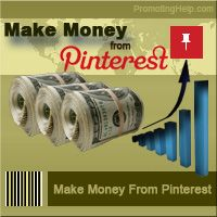 How To Make Money From Pinterest???     6 Times bigger than Google & Facebook Combined...    Users on this site are 10 times more likely to buy from you than Facebook or Google...    20 minutes tutorial video of good content, after you watch the video, you will be able  to apply the techniques and start getting as much traffic as you want from Pinterest  for FREE.