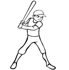 image-18899 coloriage de Baseball